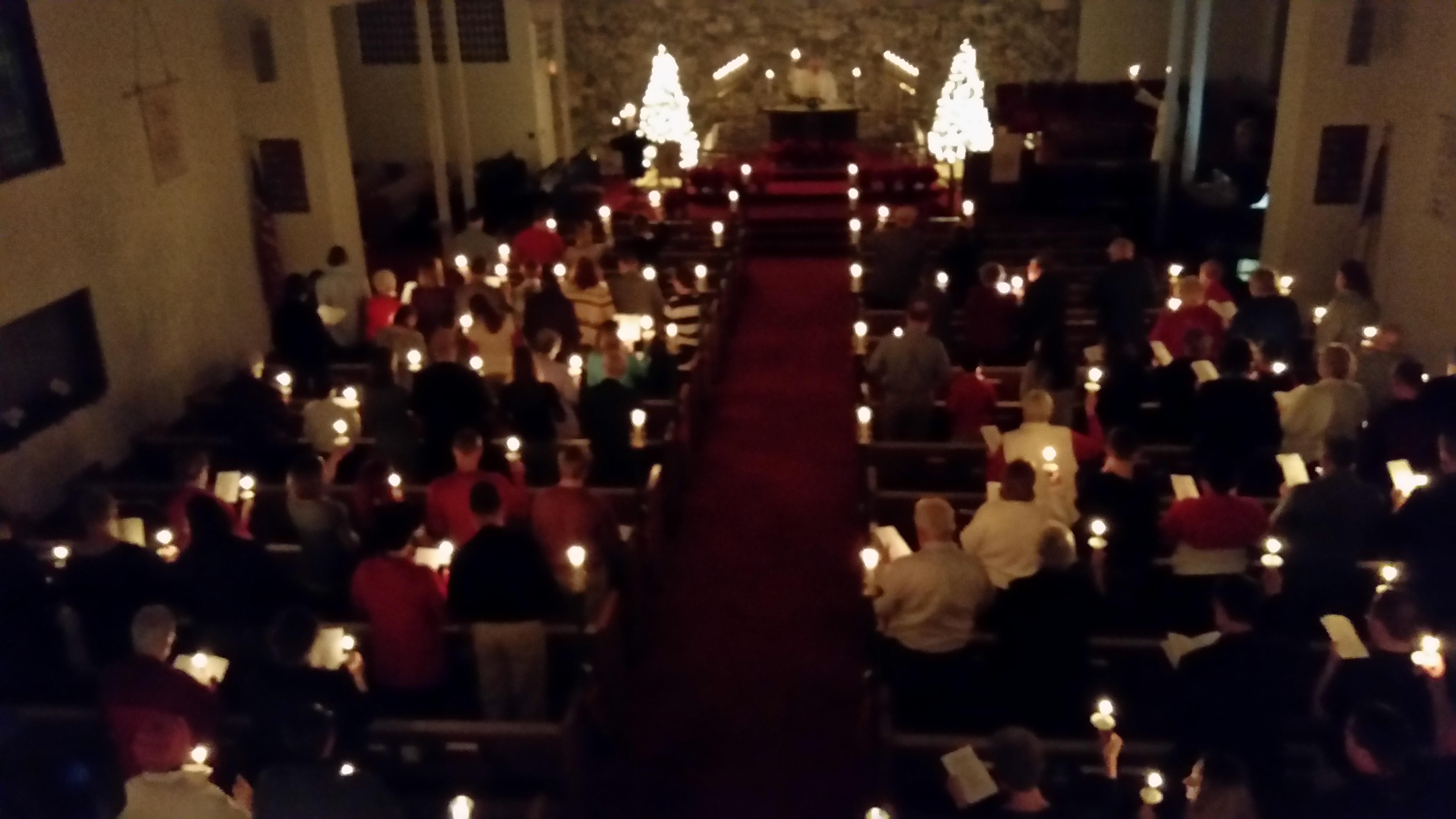 Christmas Eve Worship Pics St Paul Lutheran Church In